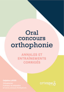 Oral du concours Ortho